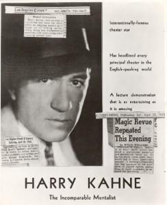 Harry Kahne