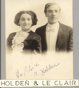 Holden and Le Clair