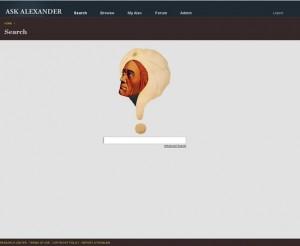 Ask Alexander 2.0 Beta!