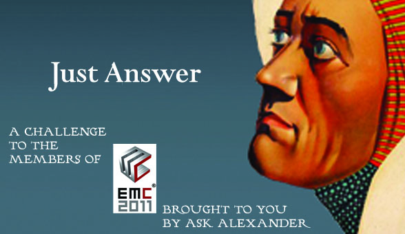 EMC 2011 and Ask Alexander Research Contest
