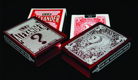 Ask Alexander Card Clips