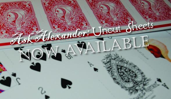 Ask Alexander Uncut Sheets!
