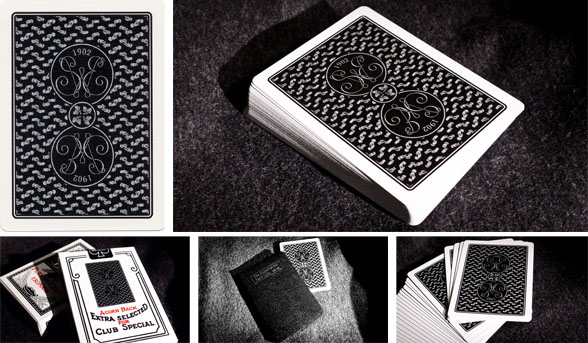 New Erdnase 1902 Black Acorn Playing Cards Conjuring Arts