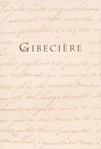 Gibecière 17, Vol. 8, No. 1