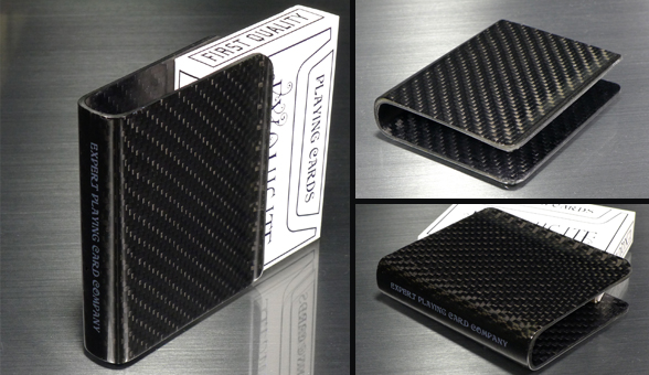Solid Carbon Fiber Card Clip! Only 50 Available! PSTPD WORLDWIDE!