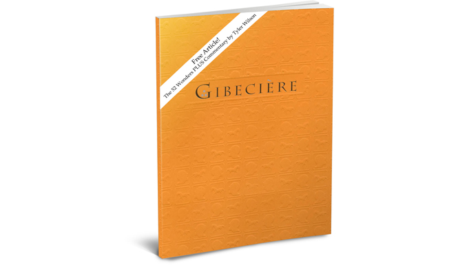 Free Gibeciere Article