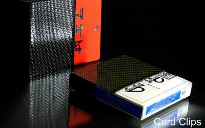 Card Clips – Kevlar and Carbon Fiber