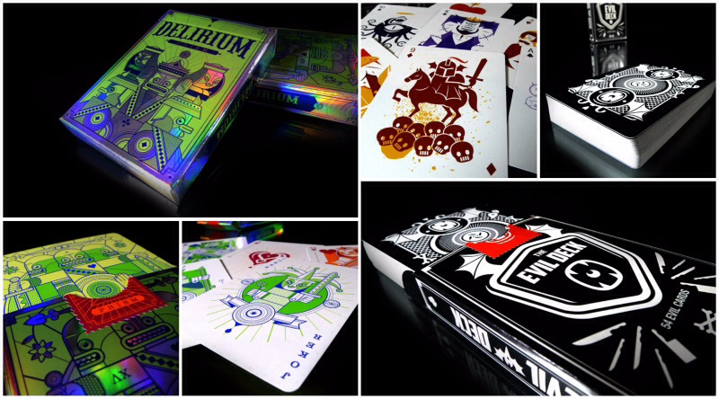 New Evil Deck and Delirium-Prism Playing Cards!