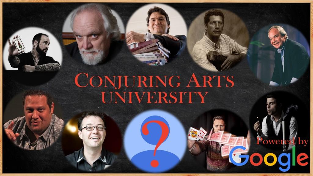 conjuring arts university header