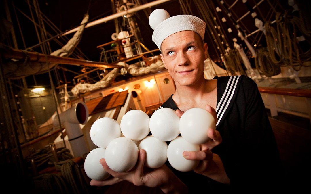 Koblikov, the Genius Juggler.