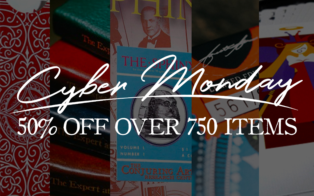 Cyber Monday! 50% OFF Hundreds of items!