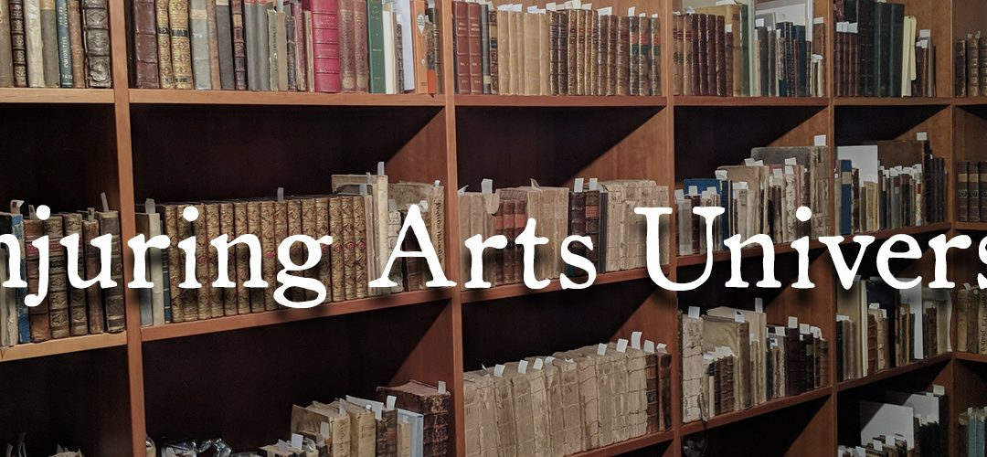 Enrollment Now Open at Conjuring Arts University!